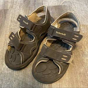 Timberland Brown Outdoor Hiking Sandals Boys 5